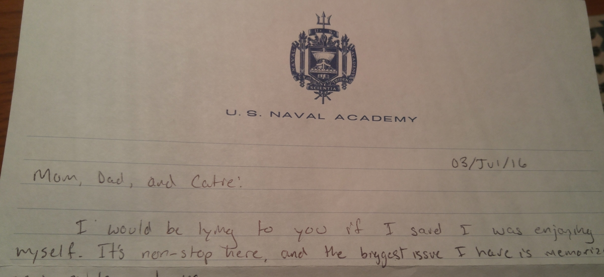 Plebe Summer underway as the cycle continues – My Kid The Mid